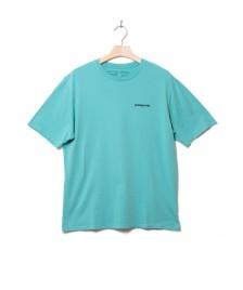 Patagonia Patagonia T-Shirt P-6 Logo green light beryl
