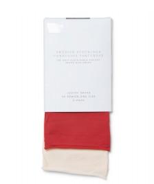 Swedish Stockings Swedish Stockings Socks 2 Pair Judith beige cream/dark red
