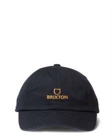 Brixton Brixton 6 Panel Alpha black/gold