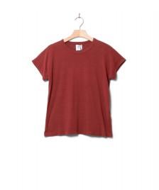 Klitmoller Collective Klitmoller W T-Shirt Sigrid red clay