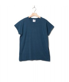 Klitmoller Collective Klitmoller W T-Shirt Sigrid blue petrol