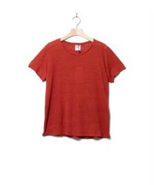 Klitmoller Collective Klitmoller W T-Shirt Rikke linen red clay