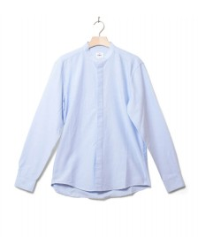 Klitmoller Collective Klitmoller Shirt Simon blue melange