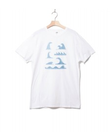Klitmoller Collective Klitmoller T-Shirt Lars white/petrol