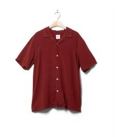 Klitmoller Collective Klitmoller Shirt Mads red clay