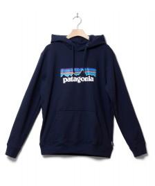 Patagonia Patagonia Hooded P-6 Logo Uprisal blue classic navy