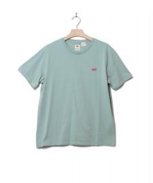 Levis Levis T-Shirt Original Hm green blue surf