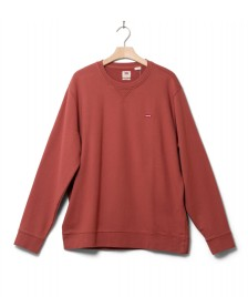 Levis Levis Sweater Original Crew red marsala