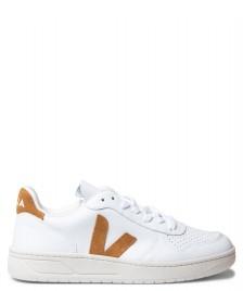Veja Veja W Shoes V-10 Leather white extra camel