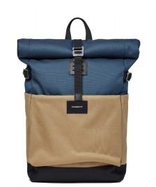 Sandqvist Sandqvist Backpack Ilon multi steel blue/bronze/black