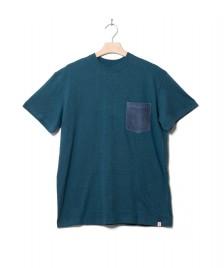 Revolution (RVLT) Revolution T-Shirt 1244 blue petrol melange
