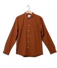 Minimum Minimum Shirt Jay 2.0 brown glazed ginger