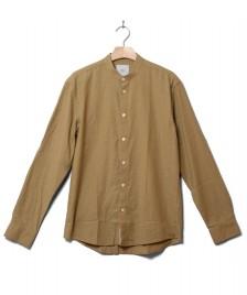 Minimum Minimum Shirt Anholt green khaki melange
