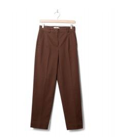 Minimum Minimum W Pants Stino brown fondue fudge