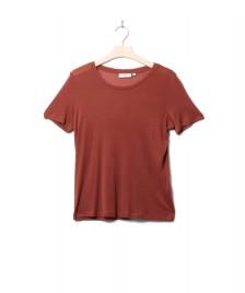 Minimum Minimum W T-Shirt Heidl red smoked paprika