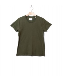 Colorful Standard Colorful Standard W T-Shirt CS 2051 green seaweed