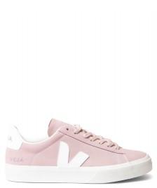 Veja Veja W Shoes Campo Nubuck pink babe white
