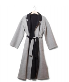 Jungle Folk Jungle Folk W Coat Alice Reversible grey/black