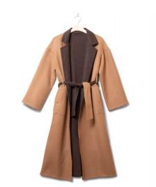 Jungle Folk Jungle Folk W Coat Alice Reversible beige/brown camel