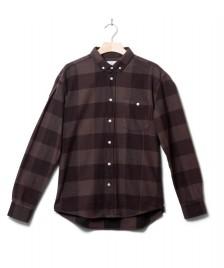 Klitmoller Collective Klitmoller Shirt Cecil brown earth/black