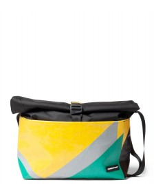 Freitag Freitag ToP Bag Rollin black/yellow/green/grey