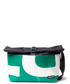 Freitag Freitag ToP Bag Rollin black/green/white