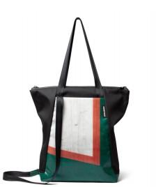 Freitag Freitag ToP Tote Bag Davian black/green/white/orange