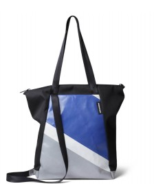 Freitag Freitag ToP Tote Bag Davian black/silver/blue/white