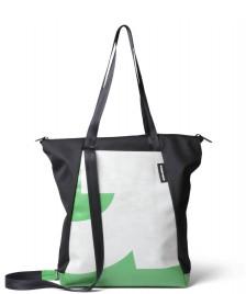 Freitag Freitag ToP Tote Bag Davian black/white/green