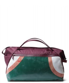 Freitag Freitag ToP Sportsbag Jimmy red marsala/green/red/white