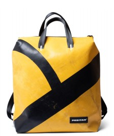 Freitag Freitag Backpack Pete yellow/black