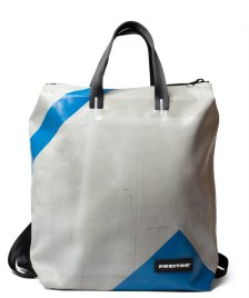 Freitag Freitag Backpack Pete grey/blue