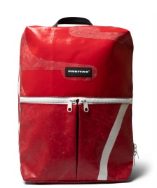 Freitag Freitag Backpack Fringe red/white