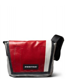 Freitag Freitag Bag Lassie grey/red/white