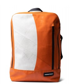 Freitag Freitag Backpack Hazzard orange/white