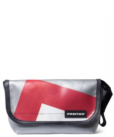 Freitag Freitag Bag Hawaii Five-O silver/red/white