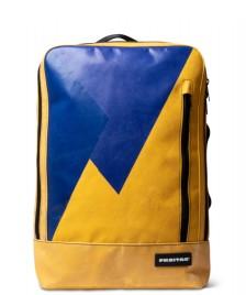 Freitag Freitag Backpack Hazzard yellow/blue