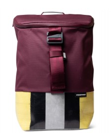 Freitag Freitag ToP Backpack Carter red marsala/grey/black/yellow