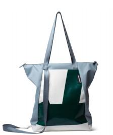 Freitag Freitag ToP Tote Bag Davian blue foggy/white/green