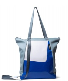 Freitag Freitag ToP Tote Bag Davian blue foggy/white/blue