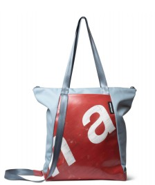 Freitag Freitag ToP Tote Bag Davian blue foggy/red/white