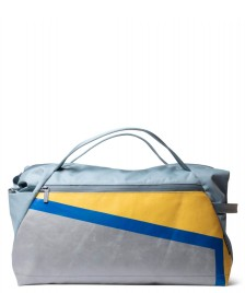 Freitag Freitag ToP Sportsbag Jimmy blue foggy/silver/yellow/blue