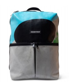 Freitag Freitag Backpack Fringe grey/black/blue/green