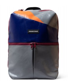 Freitag Freitag Backpack Fringe grey/blue/orange