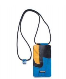 Freitag Freitag Myphone Pouch Fox blue/black/yellow