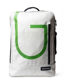 Freitag Freitag Backpack Hazzard white/green
