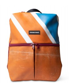 Freitag Freitag Backpack Fringe orange/blue/white