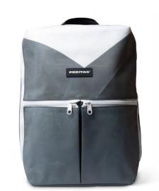 Freitag Freitag Backpack Fringe grey/white