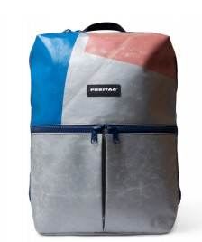 Freitag Freitag Backpack Fringe silver/blue/red
