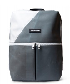 Freitag Freitag Backpack Fringe grey/white